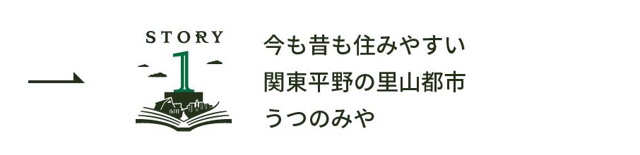 story1 今も昔も住みやすい関東平野の里山都市うつのみや