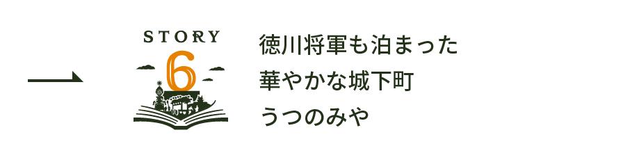 story6 徳川将軍も泊まった華やかな城下町うつのみや